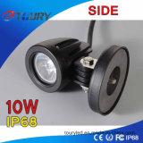 10W LED作業ライトLEDドライビング・ライトのボート車の点ライト