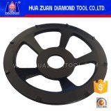 Vente chaude de Huazuan et meilleur prix de roue de meulage de cuvette de roue de la meule PCD