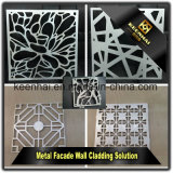 새로운 디자인 Laser 커트 알루미늄 합성 위원회 옥외 사용 벽 클래딩