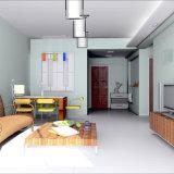 Роскошь Romanio белой мраморный плитки императора лидирующая обедая живущий комната