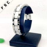 Personifiziertes weißes keramisches Form-Edelstahl-Armband für Mädchen