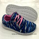 Le sport d'injection d'enfants de mode chausse les chaussures de confort de chaussures de course (FF924-1)