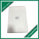 Impresión en el interior blanca corrugado ropa de la caja de embalaje