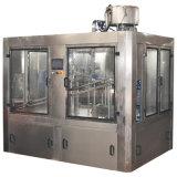 天然水のびんの注入口機械