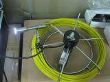 Câmera subaquática da inspeção da tubulação de esgoto com cabo de 20-100m