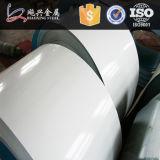 Tôle et bobine d'acier en aluminium enduites d'une première couche de peinture par TDC51D+Z de zinc