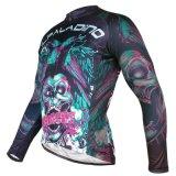 Куртка спортов способа холодная покрывает втулка Breathable быстро сухой задействуя Джерси людей длинняя