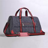 若者デザイン工場OEMの出張旅行袋、調節可能な肩ベルトが付いている耐久のナイロン週末の荷物袋