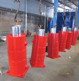 Двойной действующий гидровлический цилиндр для обкладки тормоза