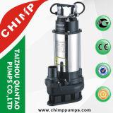 Pompes encrassées de Sumbersible d'utilisation de l'eau d'acier inoxydable
