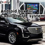 Système de navigation GPS Android Système Interface vidéo Cadillac Srx, Xts, ATS (CUE SYSTEM) Upgrade Touch Navigation, Cast Screen, Mirrorlink, HD 1080P, Google