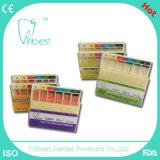 Pontos absorventes dentais da guta- dos pontos do papel