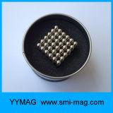 Esferas magnéticas magnéticas do ímã 216PCS 5mm da esfera do brinquedo