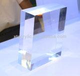 Panel acrílico moldeado transparente para caja de acrílico