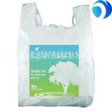 HDPE de Plastic Zak van de T-shirt voor het Winkelen in Supermarkt