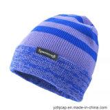 Sombrero hecho punto sombrero del cráneo del sombrero de la gorrita tejida del sombrero del telar jacquar