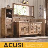 Новая наградная американская просто тщета ванной комнаты твердой древесины типа (ACS1-W22)
