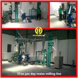 Ugali Poshoの製造所を作るための機械を作るウガンダの小規模のトウモロコシの製粉ラインコーンフラワー