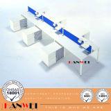 Büro-Möbel-hölzernes Möbel-Arbeitsplatz-Stahlsystem
