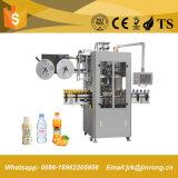 Автоматическая машина для прикрепления этикеток втулки Shrink для любимчика разливает шею по бутылкам