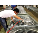 Применение в промышленном, цыплятина расквартировывает, отработанный вентилятор парника центробежный