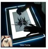 Ultra delgado LED Artesanía Rastreo Light Pad Caja de luz A4 para el diseño de tatuaje Boceto