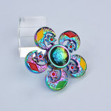 Jouets en alliage de zinc de fileur de main de jouet de personne remuante de fileur de diamant de fleur