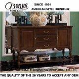 Cabina de madera de la entrada del estilo americano para los muebles caseros (AS808)