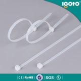Type en nylon de serre-câble de serre-câble en plastique auto-bloqueur de ventes en gros