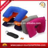 プラスチック防水膨脹可能な首の枕セット