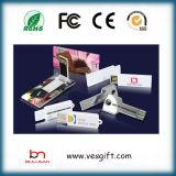 Dispositivo del USB Webkey della plastica del regalo di promozione mini