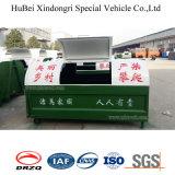3cbm Kohlenstoffstahl-Haken-Arm-anhebender Typ Zeilensprung-Müllcontainer-Abfall-Becken-Behälter