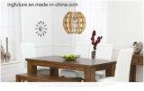 Lámpara auténtica de madera de la decoración de Artcrafts de la linterna del símbolo feliz de DIY