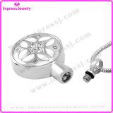 De Halsbanden van de urn voor As om Tegenhanger met Patroon en Kristallen Ijd9658