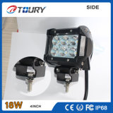 CREE Auto Comercial de la motocicleta eléctrica Luz del trabajo de montaje empotrado de 18W LED