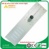100 W alles in einer LED-Solarstraßenbeleuchtung mit Batterie des Leben-Po4
