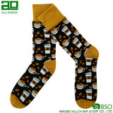 Katze-Muster-Großverkauf gestrickte Sport-Socken