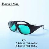 Protezione di Eyewear di sicurezza di laser per la strumentazione della pelle del laser di rimozione 635nm dei capelli dei diodi di alto potere 808nm