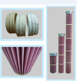 PPS / Nomex plisado del cartucho de filtro colector de polvo