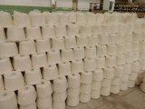 30/70 poliester e hilo de algodón para la tela teñida