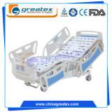 Caliente-Venta cinco populares de la salud cama de hospital eléctrica de 5 funciones con el certificado de la ISO