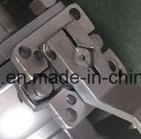 2 piezas de acero inoxidable tipo flotante Válvula de bola de brida