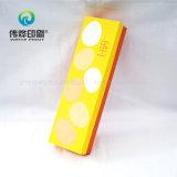 Uso colorido da caixa de presente da impressão do cartão para o empacotamento do envelope