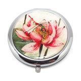 Specchio di qualità superiore Hx-7458 del compatto del ricordo di serie all'ingrosso del fiore