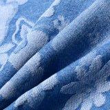 Ткань джинсовой ткани жаккарда Spandex хлопка для джинсыов