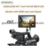 "op-camera 4K 7 "" TFT LCD IPS Comité"