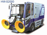 Fahrt auf batteriebetriebene Fußboden-Kehrmaschine-Maschine