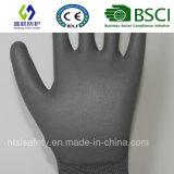 Верхней части PU ESD перчатка Nylon подходящая (SL-PU202 (4))