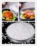 Bianco Masterbatch del commestibile del polipropilene della materia plastica