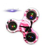 Tarnung-Spinner-intellektueller Spielzeug-Unruhe-Spinner-Handspinner mit LED